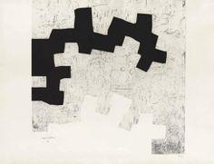 """Eduardo Chillida Grabado al Aguafuerte """"Aldikatu III"""" 1972 76,4 x 100,8 cm Tirada de 75 Ejemplares Numerado y firmado a mano Van der Koelen nº 72011 Precio: 8.000€"""