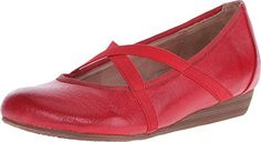 Miz Mooz Womens Deb Ballet Flat Red 8 M US ** Visit the image link more details. Note:It is Affiliate Link to Amazon.