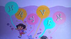 Hayven's Dora Room.