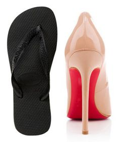 b34ad035baaeb0 Christian Louboutin Flip Flops- Flat Louboutin Shoes