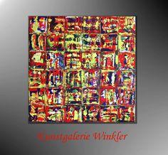 Acrylmalerei - UNIKAT Malerei Abstrakte Kunst Acrylbilder Neu  - ein Designerstück von Kunstgalerie-Winkler bei DaWanda