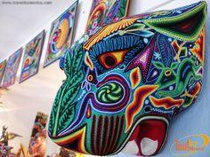 Arte Huichol Wixarika, Puerto Vallarta