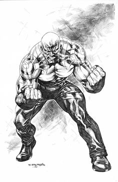 Drax Guardians Of The Galaxy Sta Maria 2014 by mikitot Galaxy Black And White, Black And White Comics, Black White Art, Comic Book Heroes, Comic Books, Galaxy Comics, Gardians Of The Galaxy, Drax The Destroyer, Marvel Paintings
