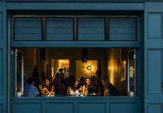 Italian Restaurant ACME Opens in Rushcutters Bay - Broadsheet Sydney - Broadsheet Bar Design Awards, Restaurant Owner, Restaurant Bar, Night Window, Window Bars, Night Bar, Sydney Restaurants, Tiramisu Recipe, Funny Mom Quotes