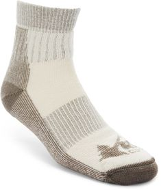 Highlander Trek Mens Merino Wool Trekking Sock Warm Padded Hiking Socks Charcoal