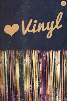 ☮ American Hippie Music Art Quotes ~ vinyl love