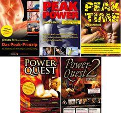 Buchvorstellung: Die Peak-Trilogie und Power-Quest-Serie Jürgen Reis - Pulstreiber