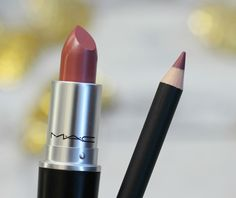 Mac Brave Lipstick & Mac Soar Lipliner