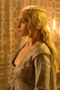 Dothraki braids in #GameofThrones