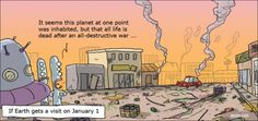 cartoons of the modern world