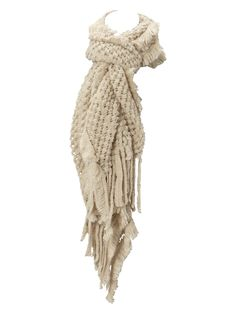 love this bobble knit scarf!!!
