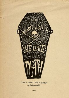Hand Lettering Typography Illustrations