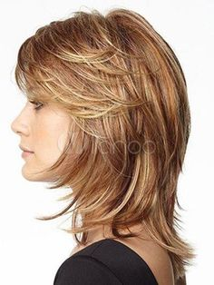 shag hairstyles for fine hair for older women Medium Hair Cuts, Short Hair Cuts, Medium Hair Styles, Curly Hair Styles, Hairstyles For Medium Length Hair With Layers, Medium Layered Hair, Pixie Cuts, Medium Brown, Medium Shag Haircuts
