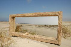 Großer Treibholz-Spiegel ~ XL driftwood mirror