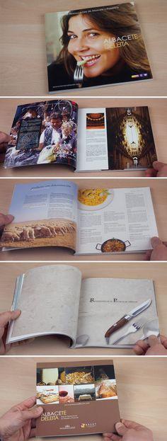 Diseño, fotografía y maquetación de guía de Restauración de Albacete y Provincia.