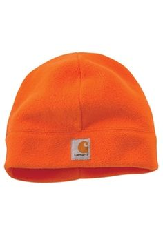 Carhartt Mens Brite Orange Enhanced Vis Beanie | Buy Now at camouflage.ca