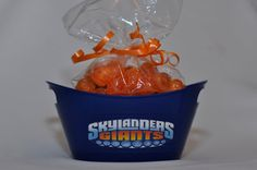Skylander Giants Birthday Party Favor Tubs set of 12