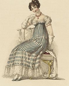 Fashion Plate (Evening Dress), November 1, 1816