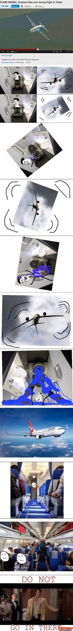 Plane Drama