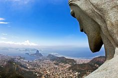 view from CRISTO REDENTOR, RIO DE JANEIRO