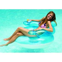 Bubble Chair Lounge Inflatable Kids Adults Swimming Pool Floating Lounger 90416 | eBay
