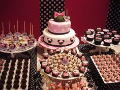 Minnie Mouse Theme Party Idea