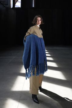 Moisés Nieto #AW21 #MoisésNieto #MBFWMadrid #Fashion #Spain Madrid, Dani, Lace Skirt, Knitwear, Ready To Wear, Fur Coat, Fashion Show, Fall Winter, Collection