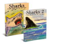 Better together! Get a great deal on the original Sharks: Chalk Pastel Art for All Ages and Sharks 2. Twenty exciting shark art lessons.