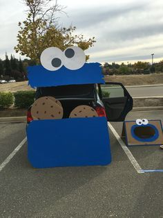 Image result for cookie monster trunk or treat
