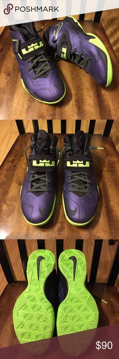 NIKE LEBRON SOLDIERS 7 Like new almost in perfect condition. The only thing is there is a little scratch on the logo in the front but other than that it's great condition. Nike Shoes