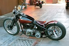 What I ride on Mondays. I need to start the week slow or I burn out and crash by Thursday. 1941 Harley-Davidson Knucklehead