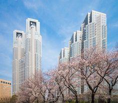 Tokyo Metropolitan Government Building (東京都庁舎). / Architect : Kenzo Tange (設計:丹下健三).