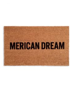 Walk Like an American  Welcome guests to your home with a mat that makes your allegiance clear.