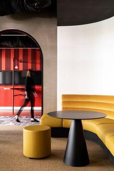 Australian Interior Design Awards Australian Interior Design, Interior Design Awards, Retail Interior, Commercial Interior Design, Luxury Interior Design, Commercial Interiors, Corporate Office Design, Workplace Design, Booth Seating