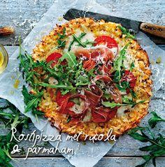 Röstipizza met rucola & parmaham | Aviko
