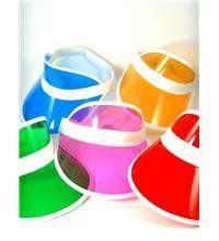 Pack of 10 sunvisors Neon http://www.amazon.co.uk/dp/B008E4C6YW/ref=cm_sw_r_pi_dp_sLdVub1S92EMS