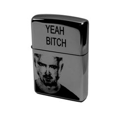 Lighter - Yeah Bitch Jesse Pinkman Zippo 250 (Engraved by Hip Flask Plus) Great for Breaking Bad Fans