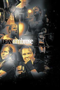 Dean Ambrose... THE SEXY LUNATIC FRINGE<3<3<3<3