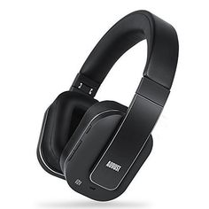 August Active Noise Cancelling Wireless Bluetooth Over-ear Stereo Headphones with Microphone and Volume Control - aPTX/Black - Reduce Air Travel Engine Noise Wireless Headphones Review, Wireless Headphones For Running, Audiophile Headphones, Waterproof Headphones, Bluetooth Earbuds Wireless, Headphones With Microphone, Best Headphones, Bluetooth Headphones, Ipod