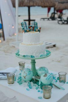 Wedding nautical  Adirondack Chairs Cake by WeddingGalleryDesign