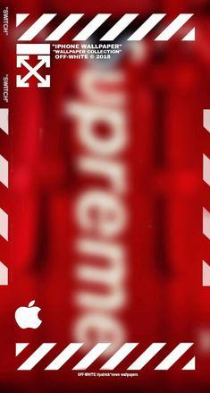 Off white & Supreme wallpaper Off white & Supreme wallpaper Iphone Wallpaper Off White, Hypebeast Iphone Wallpaper, Iphone Homescreen Wallpaper, Nike Wallpaper, Iphone Background Wallpaper, Apple Wallpaper, Aesthetic Iphone Wallpaper, Cellphone Wallpaper, White Iphone