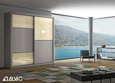 #Armario fabricado con productos #ALVIC. LUXE BY ALVIC para proyectos de #interiorismo, #decoración, #arquitectura o #construcción. Múltiples opciones de colores y diseños.