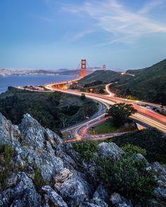 Golden Trails of San Francisco Photo by Brandon Taoka