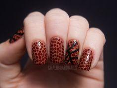 Basketball Nails | Chalkboard Nails | Nail Art Blog