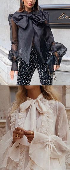 Fashion bow solid co Love Fashion, Womens Fashion, Fashion Design, Color Fashion, Fashion Photo, Trendy Fashion, Classy Outfits, Cute Outfits, Mode Plus