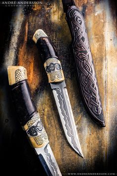 Shadow and Silverback | André Andersson Custom Knives