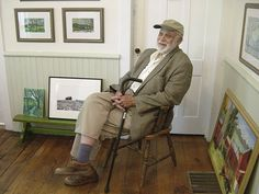 """George Ballantine. """"Poems in Paint,"""" Solo show at the Delaware County Historical Association, April 4-June 5, 2016."""