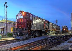 RailPictures.Net Photo: AM 34 Arkansas & Missouri Railroad Alco C424 at Springdale, Arkansas by Nikos Kavoori