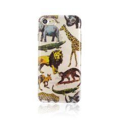iPhone7 クリアソフトケース アニマル柄 動物|iPhoneケース・カバー|hawkeye|ハンドメイド通販・販売のCreema