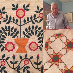 Quilts and dinner with quilting legend - Pat Cox#quilting #laundrybasketquilts #edytasitar